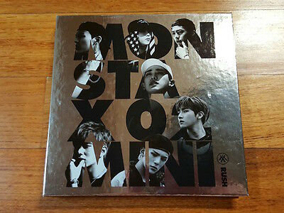 Monsta X autographed RUSH PROMO CD signed 2nd Mini Album