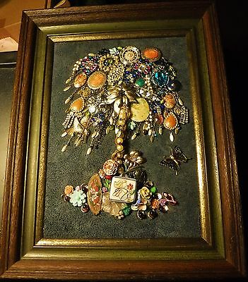 Willow Tree of Life Vintage & Modern Jewelry Art, Handcrafted & signed by Artist