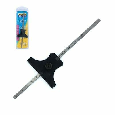 """PGA6601/A ModelCraft Precision Accessories 150mm 6"""" Stainless Steel Depth Gauge"""