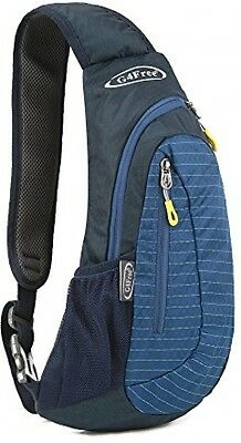 G4Free Lightweight Chest Sling Shoulder Backpacks Bags Fashion Blue Brand NEW