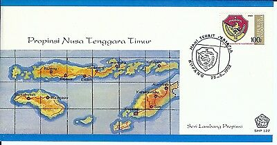 Six Nice First Day Covers From Indonesia