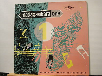Madagasikara one-Trad music of Madagascar-g/fold- Vinyl Lp- Free UK Post