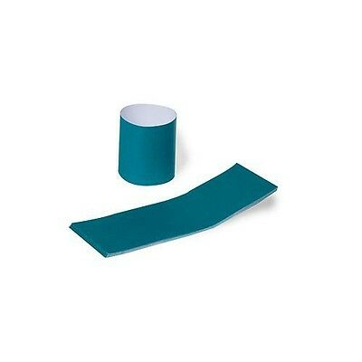 Royal Teal Napkin Bands with Self-Sealing Glue and Bond Paper Construction,