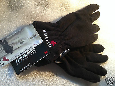 Eiger Fleece Gloves Thinsulate Fishing Hiking Walking Trekking Mountaineering