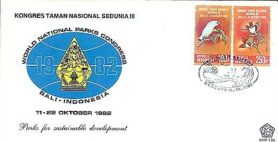 Seven Nice First Day Covers From Indonesia