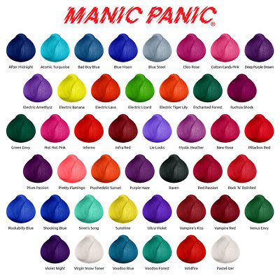 Manic Panic High Voltage Classic Semi Permanent Hair Dye Vegan Colour 118ml