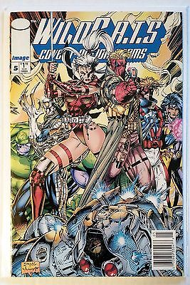 WildC.A.T.S. #5 newsstand edition VF/NM Jim Lee Image 1994