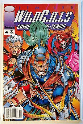 WildC.A.T.S. #4 newsstand edition VF/NM Jim Lee Image 1994