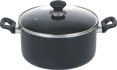 Non Stick Casserole Dish Pan Stockpot Cooking Pan Stew Soup Pan With Glass Lid