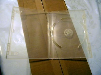 DVD Cases, Lot of 10, Clear