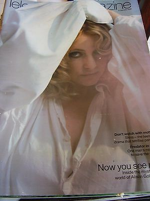 Vintage Telegraph Magazine February 2008 Alison Goldfrapp Predator In Peril