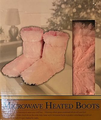 SLIPPER BOOTS HEAT / COOL Microwaveable Therapeutic Slipper Boots, by Intelex