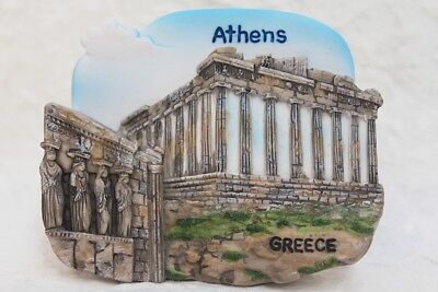 Parthenon Athens GREECE Resin 3D Fridge Magnet Collectible Souvenir Tourist Gift