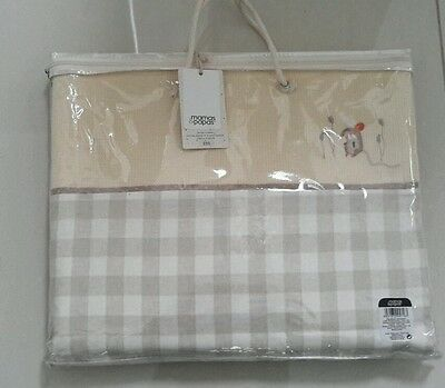 Mamas & Papas Murphy And Me Tab Top Curtains Bnwt