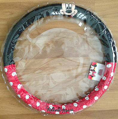 NWT Minnie Mouse Car Accessories Steering Wheel Covers