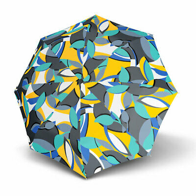 Umbrella by Knirps - T.200 Duomatic Madagascar Sea (UV Protected)