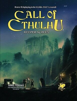 Call of Cthulhu RPG: 7th Edition Keepers Screen