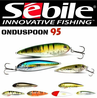 Sebile Hard Plastic Topwater Lure Onduspoon 95