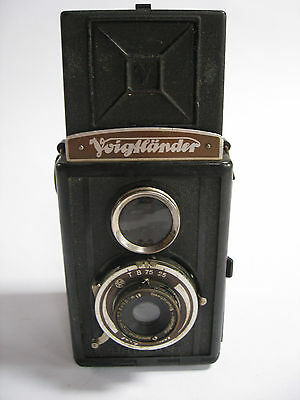 Voigtlander Braunschweig Brilliant Camera Anastigmat Voigtar Lens Made Germany