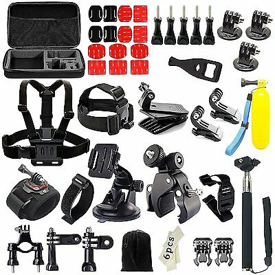 Gogolook 57-in-1 Outdoor Sports Action Camera Accessories Kits for Gopro 4/3/2/1