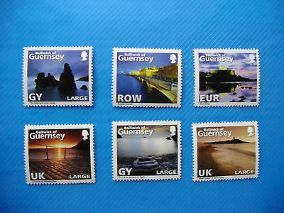 Guernsey 2010 Channel Islands Wiews  Abstract Guernsey Mint NH Set Unused stamps