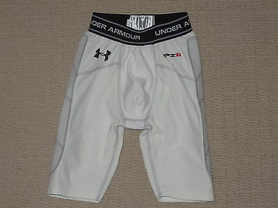 Boys Under Armour MPZ1 Cup Pocket Protective Compression Shorts Youth Medium YMD