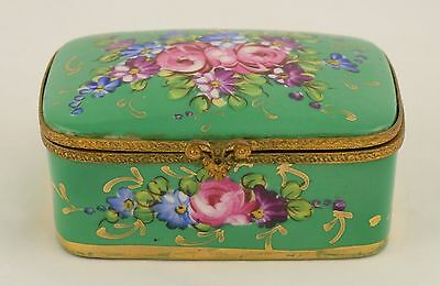 Vintage Peint Main - Hand Painted - Limoges France Trinket Box