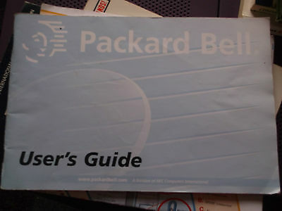 Packard bell user's guide & installation guide vintage