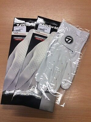 2 x TaylorMade Tour Preferred Leather Golf Gloves