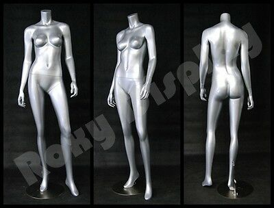 Female Fberglass Headless Mannequin Dress Form Display #MD-A3BS-S