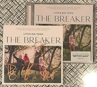 LITTLE BIG TOWN The Breaker SIGNED Autographed CD Pre-Order!