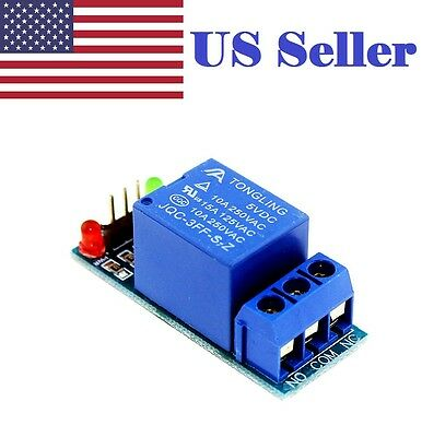 5V 1 One Channel Relay Module Shield Low level for SCM DIY Arduino AVC DSP PIC