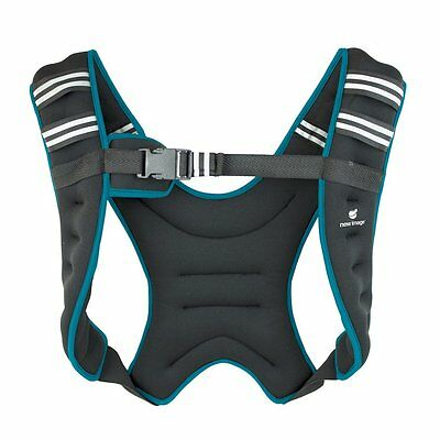Weighted Vest (5kg) by New Image Running Gym Training Workout CrossFit