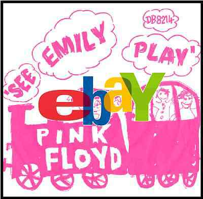 """THE PINK FLOYD ● See Emily Play ● Reproduction 7"""" Sleeve"""
