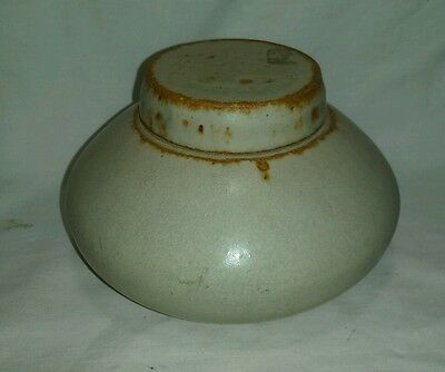 HandMade Very Unique Heavy Clay Pottery Vase with Lid