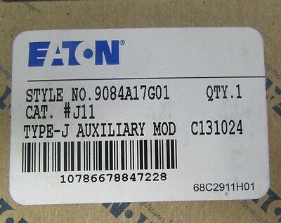 EATON CUTLER HAMMER WESTINGHOUSE J11 Auxiliary Contact for A200 9084A17G01
