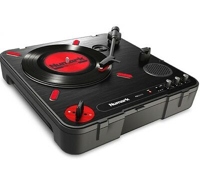 Numark PT-01 Scratch - Portable Battery-Operated DJ Vinyl Turntable PT01
