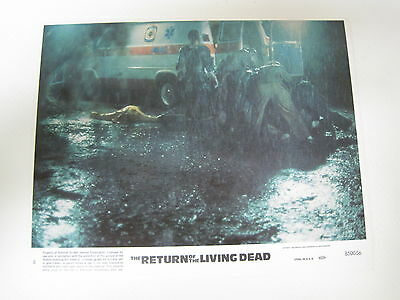 Vintage Lobby Card Movie The Return of the Living Dead Clu Gulager 1985 Photo #8