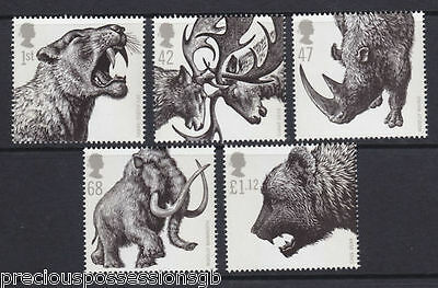 Gb Mnh Stamp Set 2006 Ice Age Animals Sg 2615-2619 10% Off Any 5+
