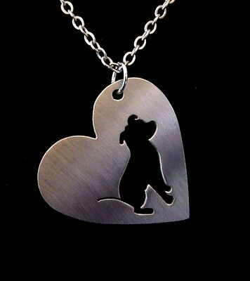 Staffordshire bull terrier Staffie Necklace pendant...Gift Boxed....(1430)