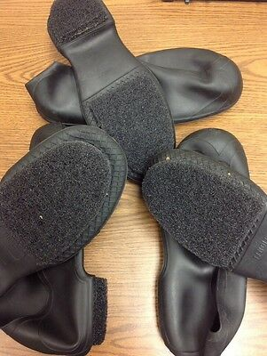 3 Pairs Of Anti-Skid Ankle Boot/Shoe Covers. 1 2XL Pair And 2 XL Pairs.  Loc 58C