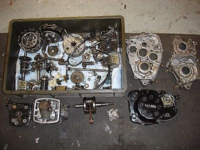 YAMAHA RD125 LC engine 10v 12v DT with new parts PISTON KIT, CON ROD