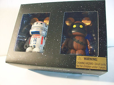 "Disney STAR WARS JAWA AND R5-D4 DROID 3"" VINYLMATION SET of 2 SERIES 2 MIB LE"