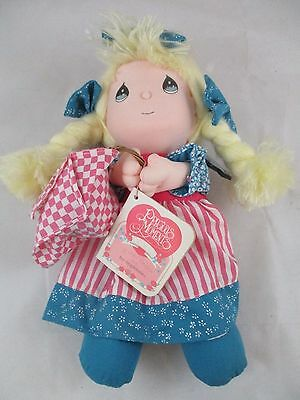 Vintage Precious Moments Applause Doll of the Month July Basket Plush with Tags