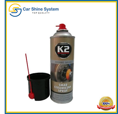 K2 PRO Ceramic Grease HIGH TEMPERATURE 1400°C RESISTANT Spray ABS Braking System