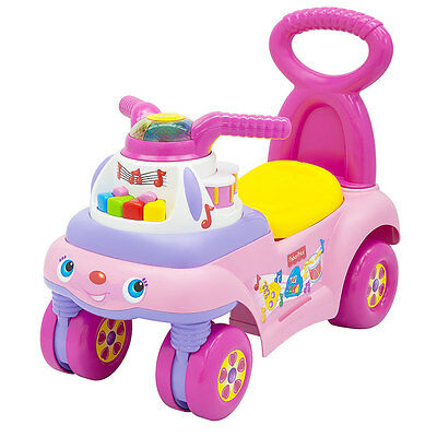 Fisher-Price Music And Motion Ride On Pink - NEW