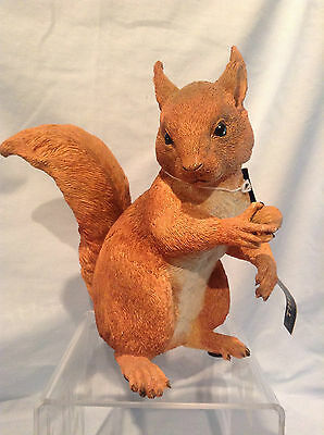 """Country Artists Red Squirrel Alert Figurine 7"""" Resin item #03971 $69.99"""