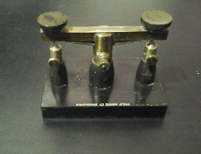 Vintage two pole laboratory switch