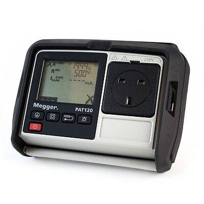 NEW Megger PAT120 Hand Held Battery Operated Portable Appliance PAT Tester
