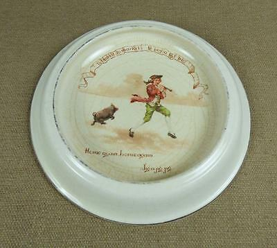 "ROYAL DOULTON, NURSERY SERIES, BABY PLATE 1910 - ""To Market to Buy a Fat Pig.."""